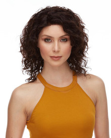 AGATHA - 100% Remy Human Hair Natural Wavy Wig - By Elegante