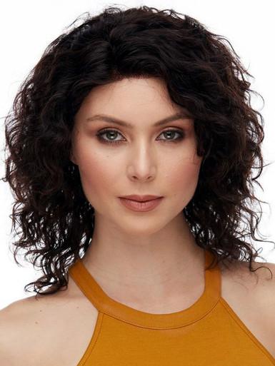 AGATHA - 100% Remy Human Hair Natural Wavy Wig - By Elegante