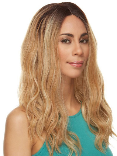 SHILOH- Lace Front Heat Resistant Long Soft Waves Wig - by Sepia