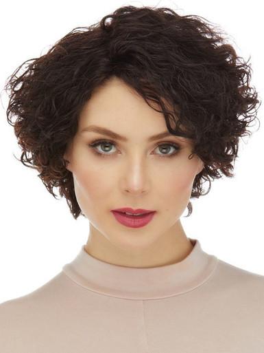 CAYENNE - 100% Remy Human Hair Short Curls Wig - By Elegante