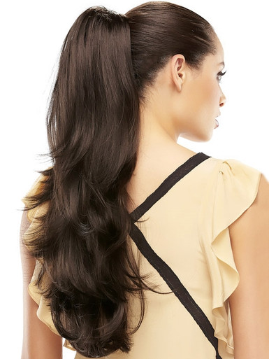 Provocative Long Straight Ponytail by Jon Renau - colour 4