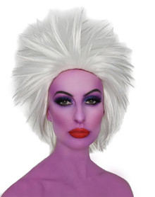 Ursula Sea Witch White Costume Wig - by Allaura