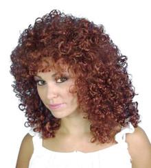 80's Perm Auburn Costume Wig - by Allaura