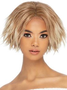 """JACE - 10"""" TEXTURED CHOPPY CUT WITH INVISIBLE CENTER PART  WIG - by Vivica Fox"""