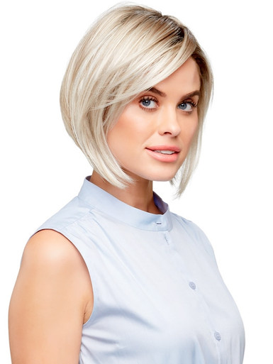 VICTORIA - Lace Front Monofilament Hand-tied Bob Wig - by Jon Renau FS17/101S18 Palm Springs Blonde
