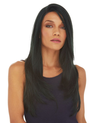AALIYAH - Swiss Lace Front Mono Top Base Heat Resistant Long Straight Wig  - by Sepia