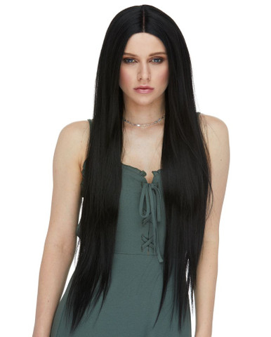 """ARDEN - Extra Long 30"""" Heat Resistant Straight Wig  - by Sepia"""