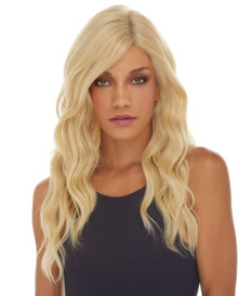 AUBREY - Swiss Lace Front Mono Top Base Heat Resistant Long Wavy Wig  - by Sepia