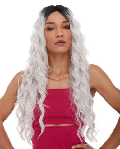 CELESTIAL - Heat Resistant Lace Front Long Waves Wig - By Sepia