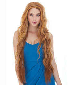 "MONTANA - Extra Long 28"" Heat Resistant Lace Front Long Wavy Wig - By Sepia"