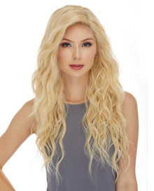 SHAKIRA- Swiss Lace Front Mono Top Base Blonde Heat Resistant Long Wavy Wig - by Sepia