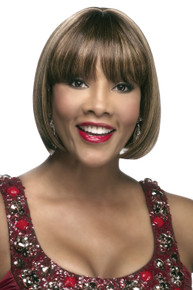 "H280-V - 100% Human Hair 8"" Straight China Bob Wig - by Vivica Fox"