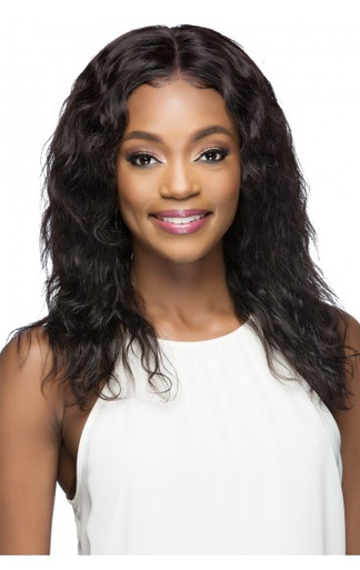 "OPHELIA - HUMAN HAIR LACE FRONT 19"" NATURAL WAVE WIG - by Vivica Fox"