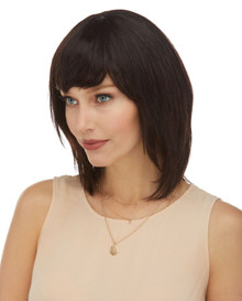 DELUXE Padma (Natural Black) Brazilian Remy Human Hair Wig