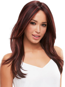 ZARA LARGE - Lace Front Monofilament Long Layered Straight Wig - by Jon Renau FS2V/31V