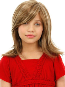 ASHLEY CHILD - Double Monofilament Long Layered Wig - by Jon Renau