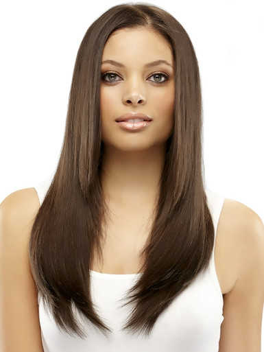 "EasiXtend Elite Human Hair 16"" Clip-in Hair Extension 8 Piece Set - by Jon Renau"