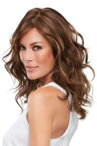 ALEXIS - Double Monofilament Hand-tied Layered Wavy Wig - by Jon Renau 6F27
