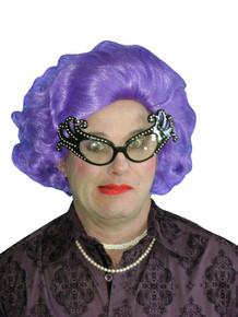 Purple Edna Deluxe Wig