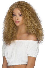 """PALMER -  Lace Front 21"""" Layered Tight Curl Wig - by Vivica Fox - P2216"""