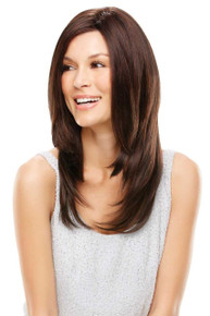 COURTNEY - Lace Front Monofilament Hand Tied Layered Long Wig - by Jon Renau 4/33