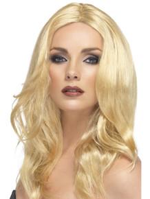 Superstar Blonde Long Wavy Costume Wig