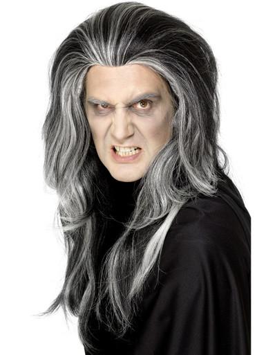 Black and Grey Gothic Vampire Wig