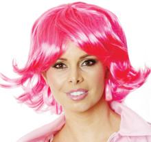 Pink Flick Ladies Costume Wig  - by Allaura