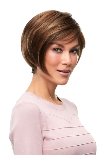 GABRIELLE - Lace Front Monofilament Hand Tied Short Wig by Jon Renau FS6/30/27