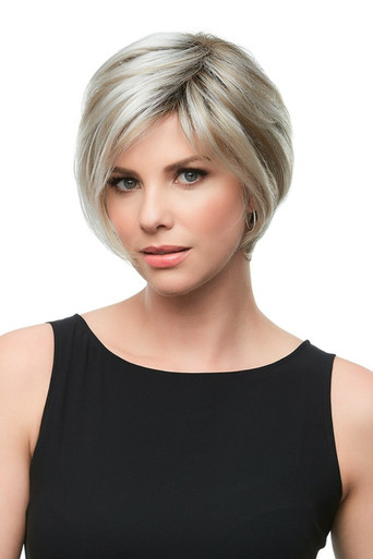 GABRIELLE - Lace Front Monofilament Hand Tied Short Wig by Jon Renau FS17/101S18