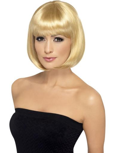 Blonde Short Bob Partyrama Costume Wig