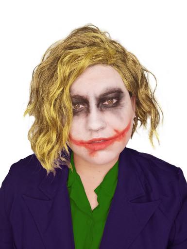 Green Maniac Joker Costume Wig  - by Allaura