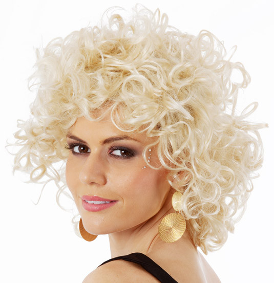 Bad Sandy Grease Wig Womens 1950s Blonde Costume Wigs - by Allaura ... b00c82c276