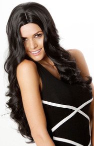 Kim Kardashian Style (Black 1) Platinum Fashion Wig
