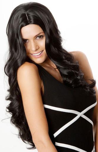 Kim Kardashian Style (Black 1) Platinum Fashion Wig