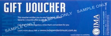 Gift Voucher For Music Lessons