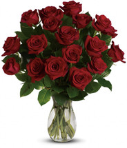 My True Love Bouquet 18 Red Roses