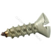 Oval Raised Self Tapping Sheet Metal Screw Slot Stainless