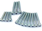 BSA A7 A10 RGS (Swinging Arm Models) - Primary Chaincase Cover Allen Screw Set