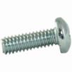 Pan head machine screw phillips zinc