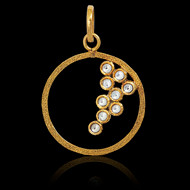 Bubbles Necklace - Gold Organic