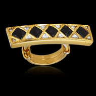 Your Royal Highness Bridge Ring-Onyx