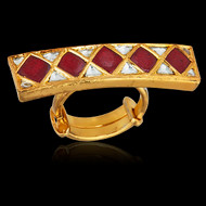 Your Royal Highness Bridge Ring-Red