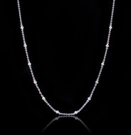 Diamonds by the yard, moments diamonds station necklace.