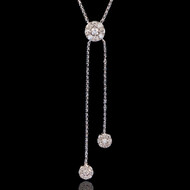 Bubbles Diamond Necklace