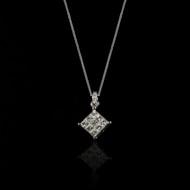 Eternally Beautiful Princess Diamond Necklace