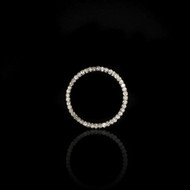 Eternally Beautiful Circle Diamond Pendant