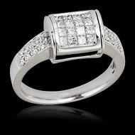 Convertible Flipping Diamond & Sapphire Ring