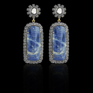 Sapphire Slice Earrings