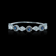 """Just Because"" Sapphire & Diamond Ring"